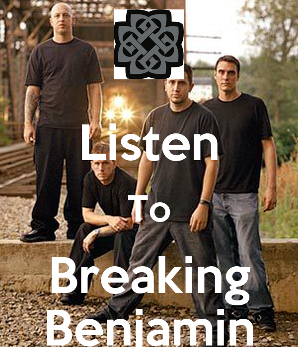 Listen To Breaking Benjamin - KEEP CALM AND CARRY ON Image Generator