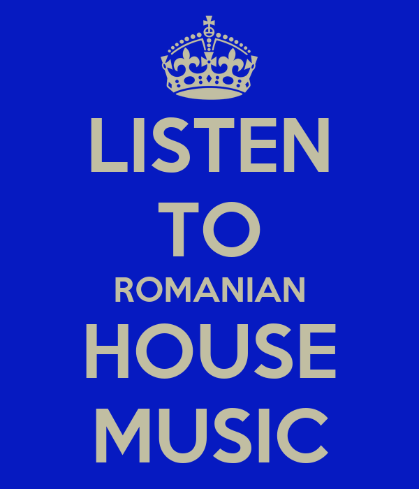 listen to romanian house music poster bally keep calm