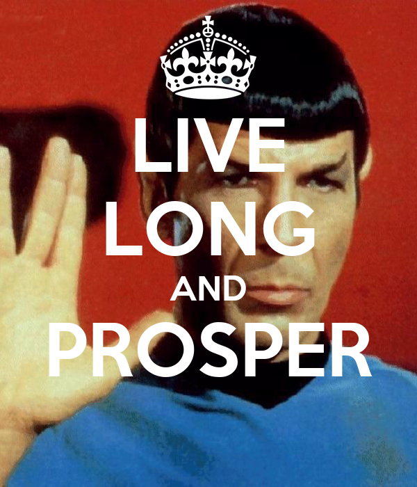 Similiar Live Long And Prosper Keywords