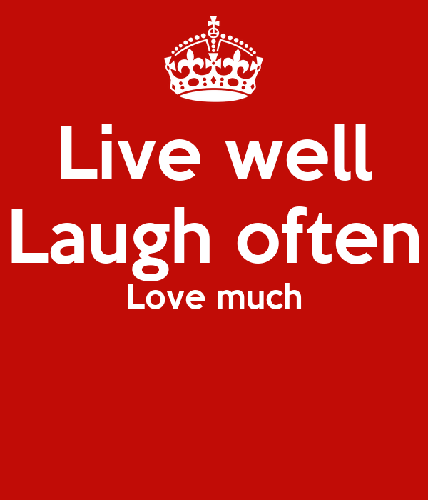 live well laugh often love much poster maddi deville keep calm o matic. Black Bedroom Furniture Sets. Home Design Ideas