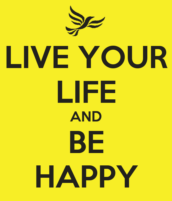 how to live life alone and be happy