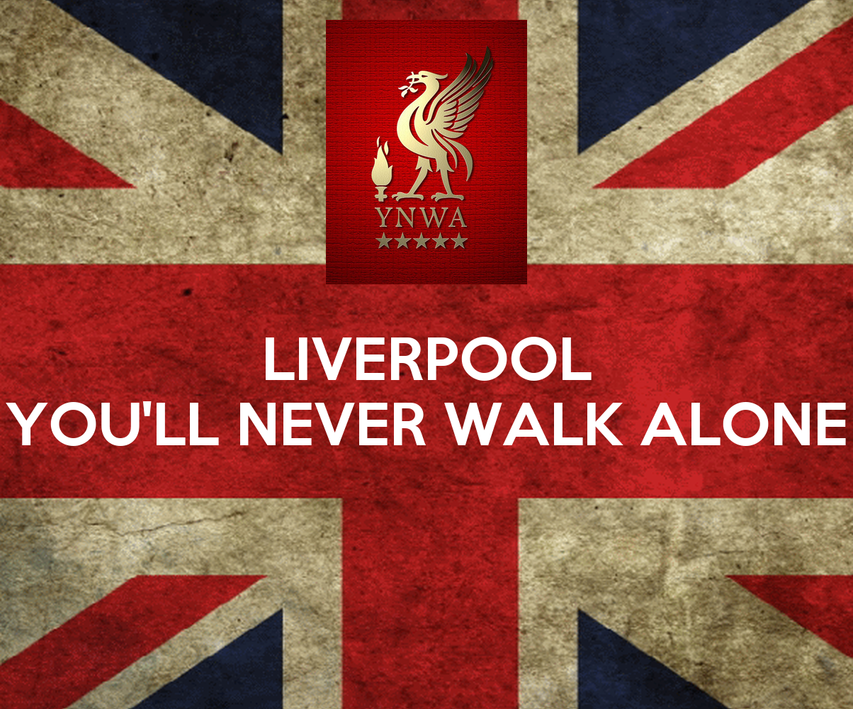 liverpool you 39 ll never walk alone poster e bonk keep calm o matic. Black Bedroom Furniture Sets. Home Design Ideas