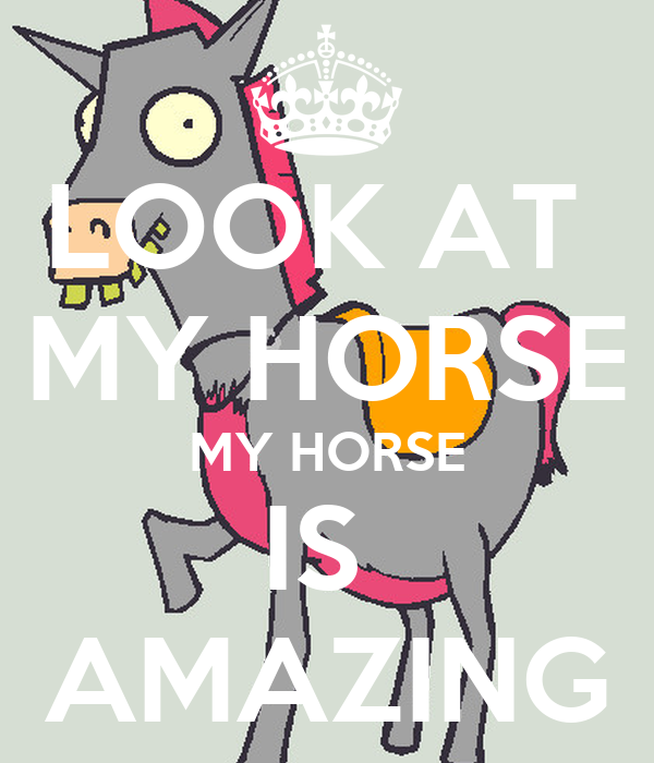 Y Horse Is Amazing V.0.99 Perceive...