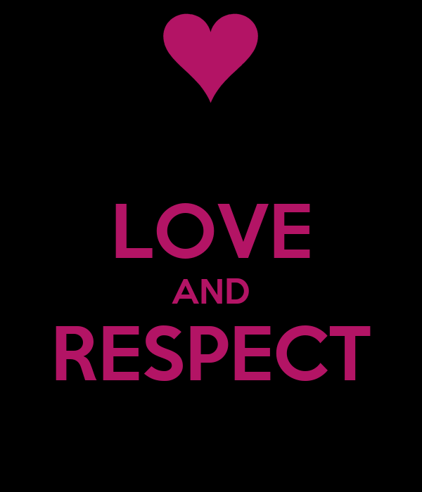 LOVE AND RESPECT Poster