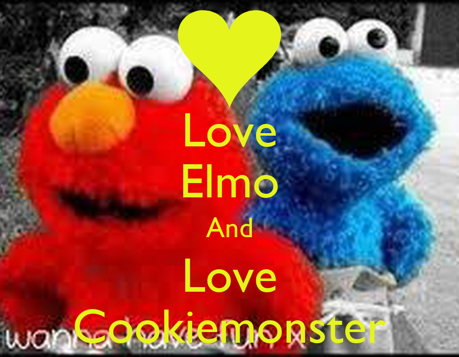 Elmo And Cookie Monster Wallpaper Download