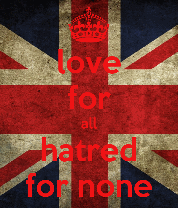 love for all hatered for none Love for all hatred for none ahmadiyya muslim association in ireland was separated from the uk which led to the creation of an independent majlis khuddam ul.