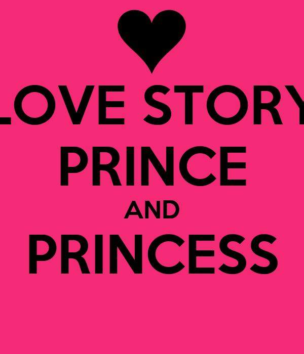 LOVE STORY PRINCE AND PRINCESS Poster   arsyadul ibad   Keep