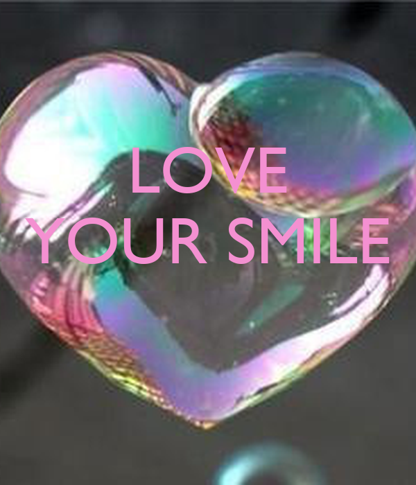 LOVE YOUR SMILE Poster | Viridiana