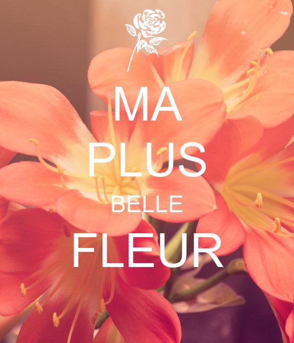 Ma Plus Belle Fleur Poster Jemimah Wa Matamba Keep Calm O Matic