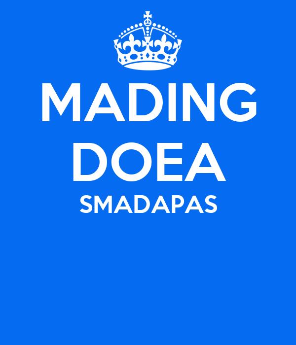 Mading Doea Smadapas Poster Haniaa Keep Calm O Matic