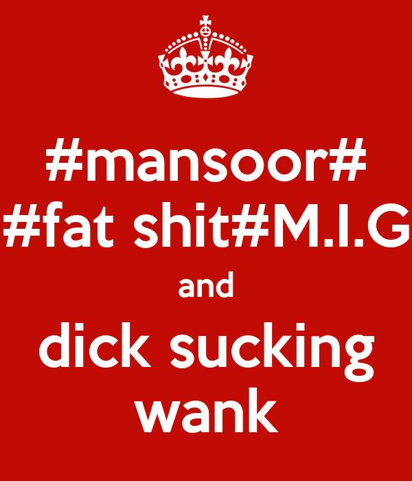 dicksucking wank