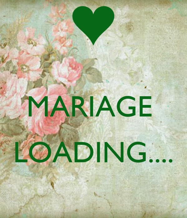 MARIAGE LOADING.