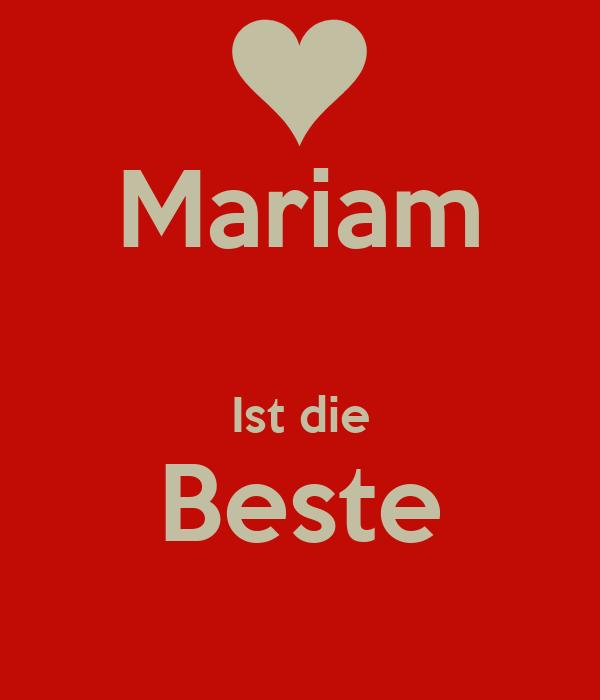 mariam ist die beste keep calm and carry on image generator. Black Bedroom Furniture Sets. Home Design Ideas