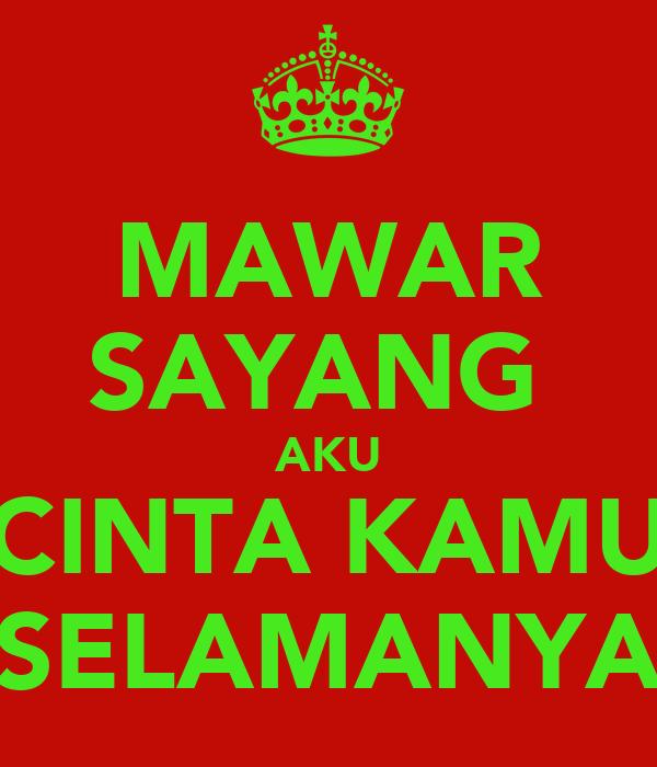 Mawar Sayang Aku Cinta Kamu Selamanya Poster Teguh Keep Calm O Matic