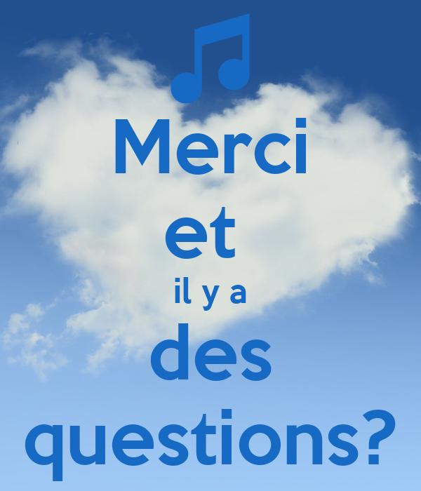 Merci et il y a des questions? Poster | Myrthe | Keep Calm ...