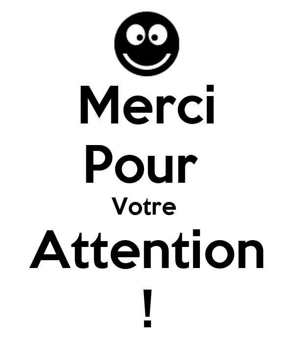 Merci Pour Votre Attention Poster Ismail Elhabbari Keep Calm