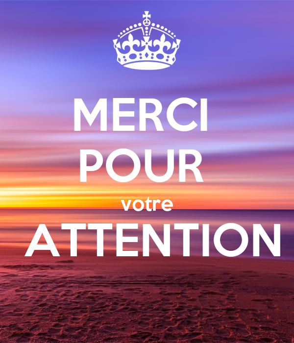 merci pour votre attention poster keep calm o matic. Black Bedroom Furniture Sets. Home Design Ideas