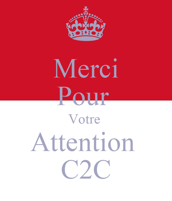 merci pour votre attention c2c keep calm and carry on image generator. Black Bedroom Furniture Sets. Home Design Ideas