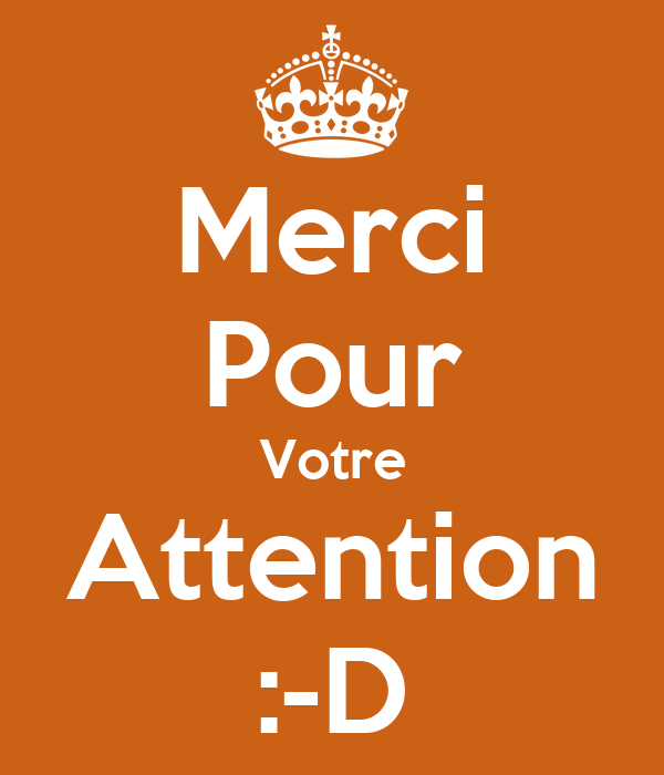 Merci Pour Votre Attention D Poster Mouad Keep Calm O Matic