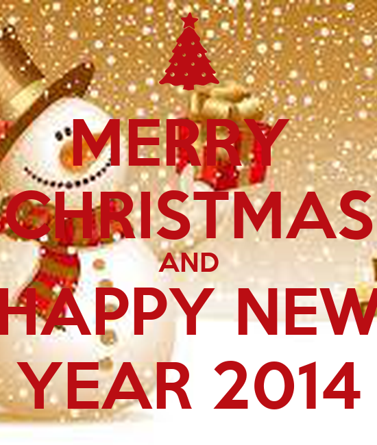 Merry christmas and happy new year 2014 keep calm and for Why is it merry christmas and not happy christmas