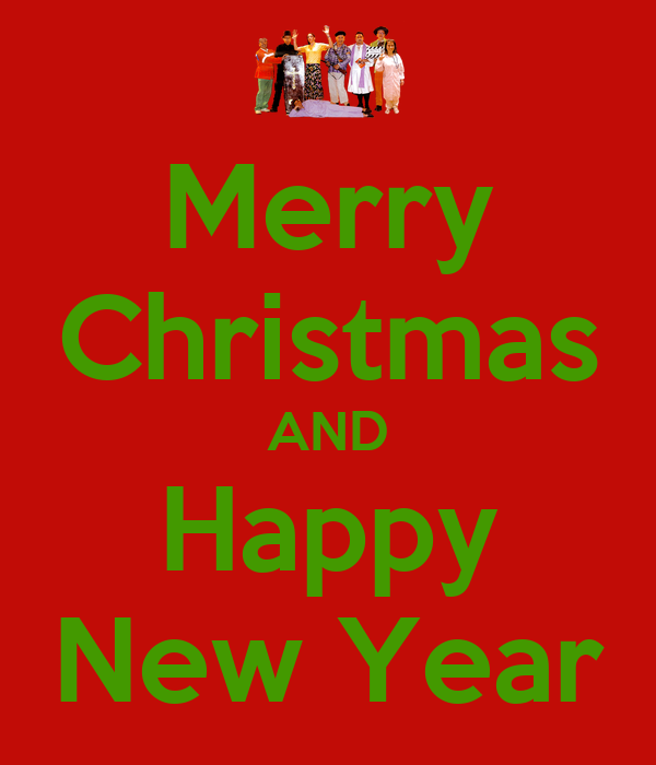 Merry christmas and happy new year keep calm and carry for Why is it merry christmas and not happy christmas