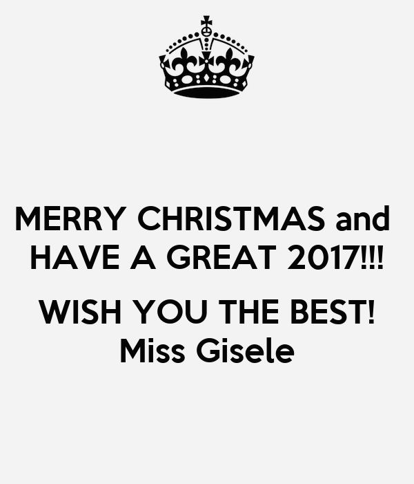 Merry Christmas And Have A Great 2017 Wish You The Best Miss Gisele 2 moreover Keep Calm And Respect Human Rights 7 additionally  on f30 poster