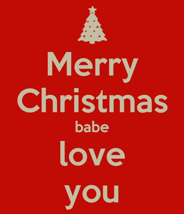 Merry Christmas babe love you Poster   Emma palin   Keep Calm-o-Matic