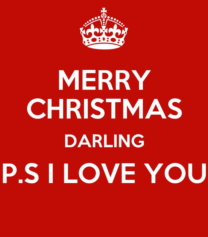 merry christmas darling p s i merry christmas darling