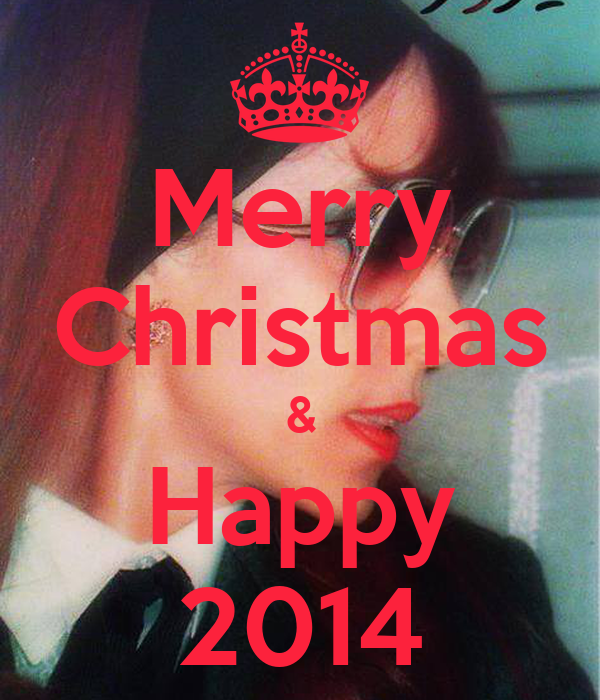 Merry christmas happy 2014 keep calm and carry on for Why is it merry christmas and not happy christmas