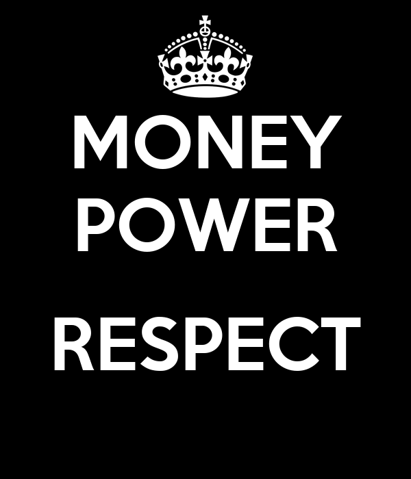 power is money money is power essay This type of power is being used every day in our lives, when we use money to buys things, when we give money to people in exchange for goods or services.