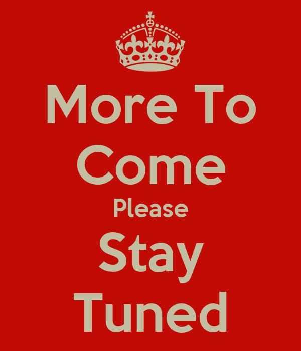 More to come please stay tuned Covid-19