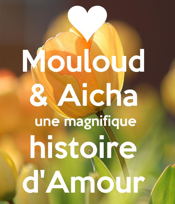 Mouloud Aicha Une Magnifique Histoire Damour Poster