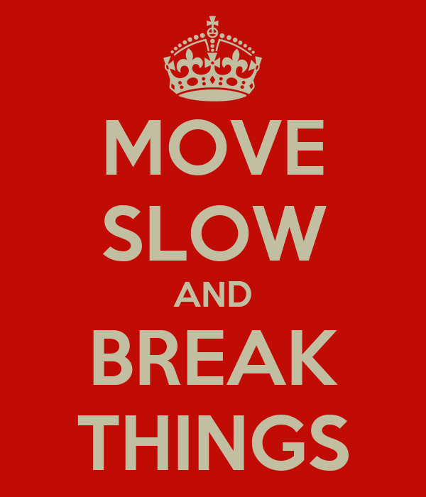 That move slow things 6 Foods