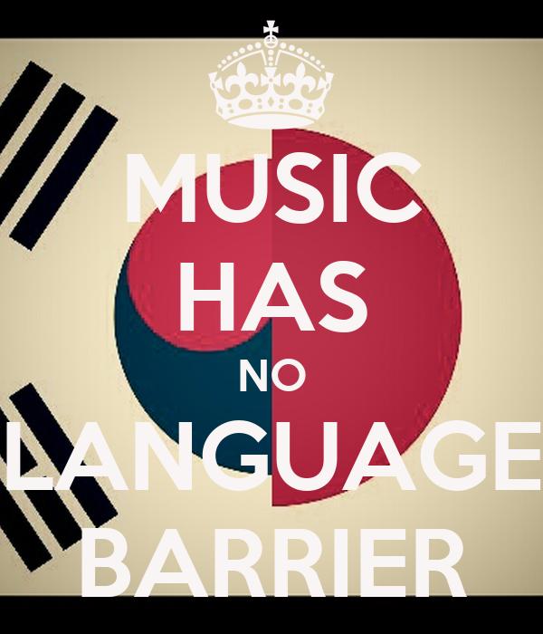 Kpop music has no language