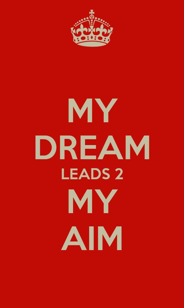 my aim