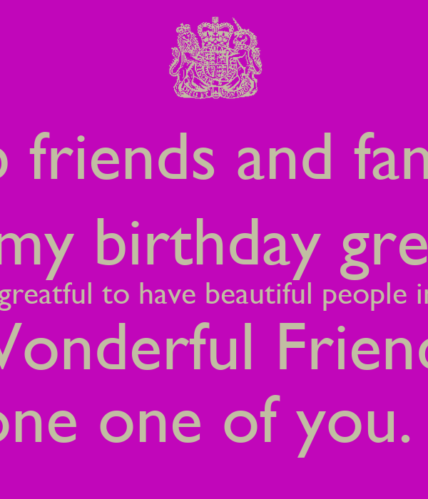 Quotes Thanking Friends Birthday Wishes Thank you birthday cards – Thank You All for the Birthday Greetings and Wishes