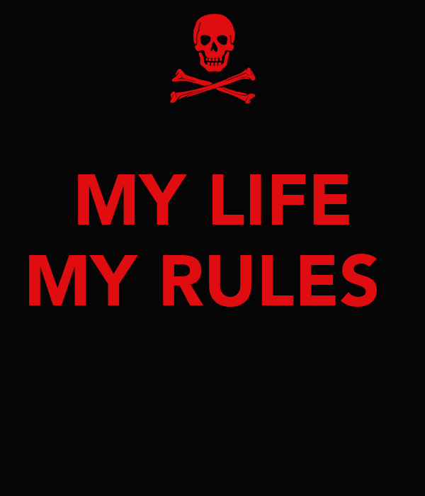 My Life Rules Wallpapers For Boys Fb