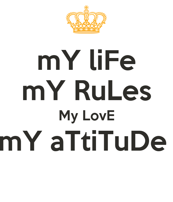 Love Is My Attitude Wallpaper : Pin My-lifemy-rules on Pinterest