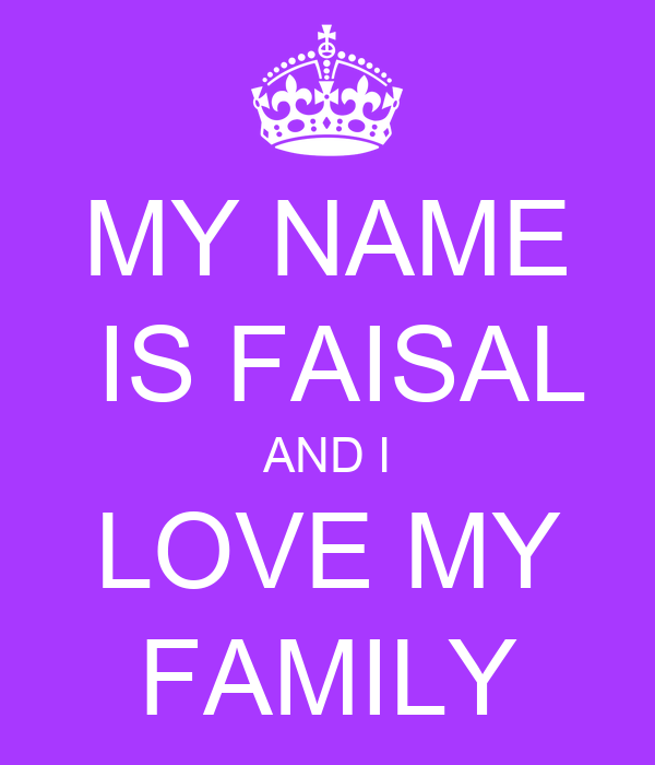 Love Wallpaper With My Name : i Love You Faisal Wallpaper