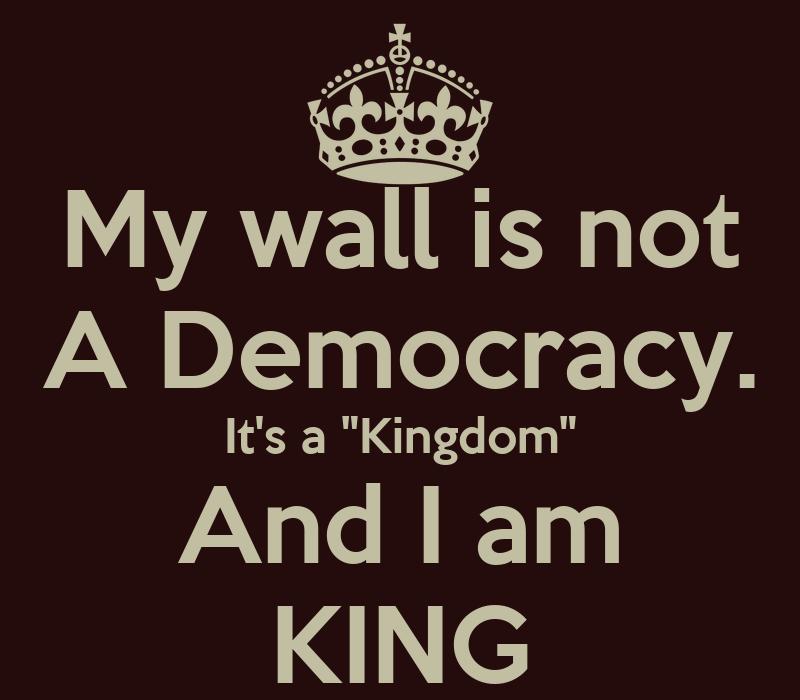 It s a   Kingdom   And I am KING  I Am King Wallpaper