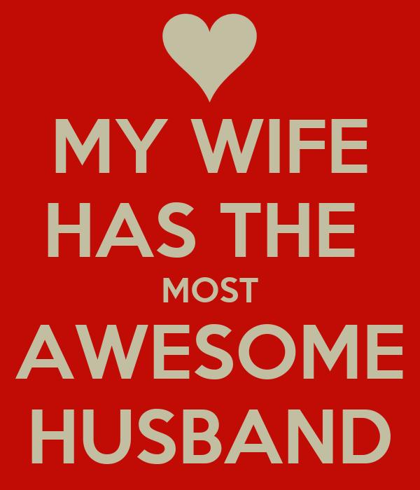 My husband is my wife