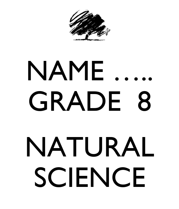 Grade  Natural Science Exam Papers And Memos