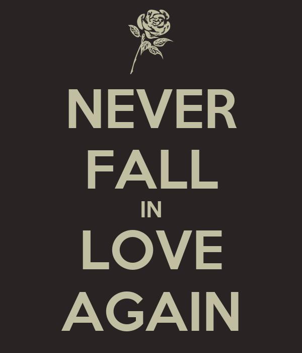 fall again: