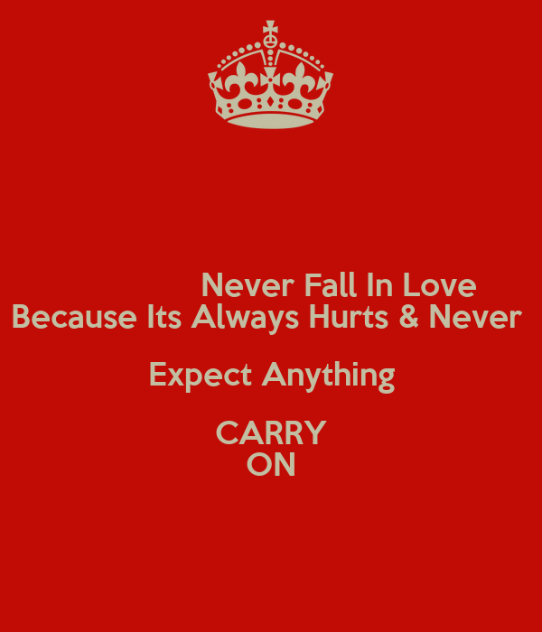 why love always hurts