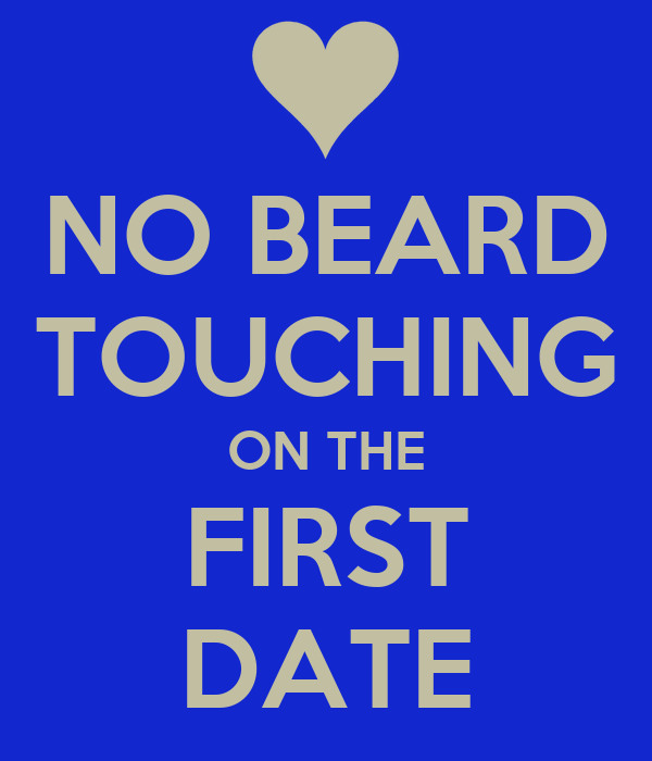 touching on first date
