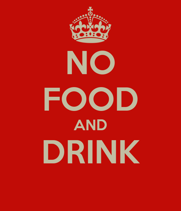 NO FOOD AND DRINK Poster | Alex | Keep Calm-o-Matic
