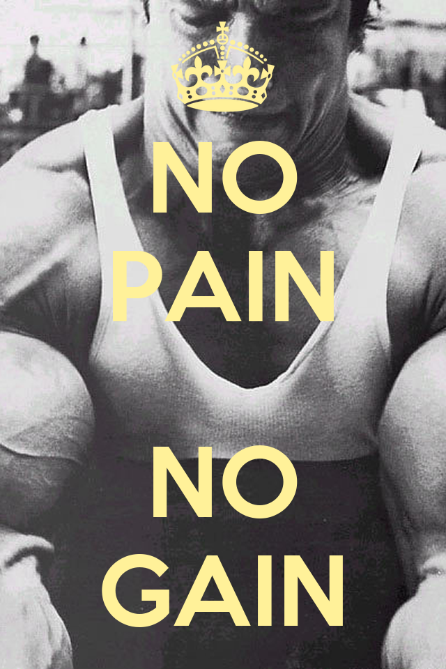 NO PAIN NO GAIN Poster | 0