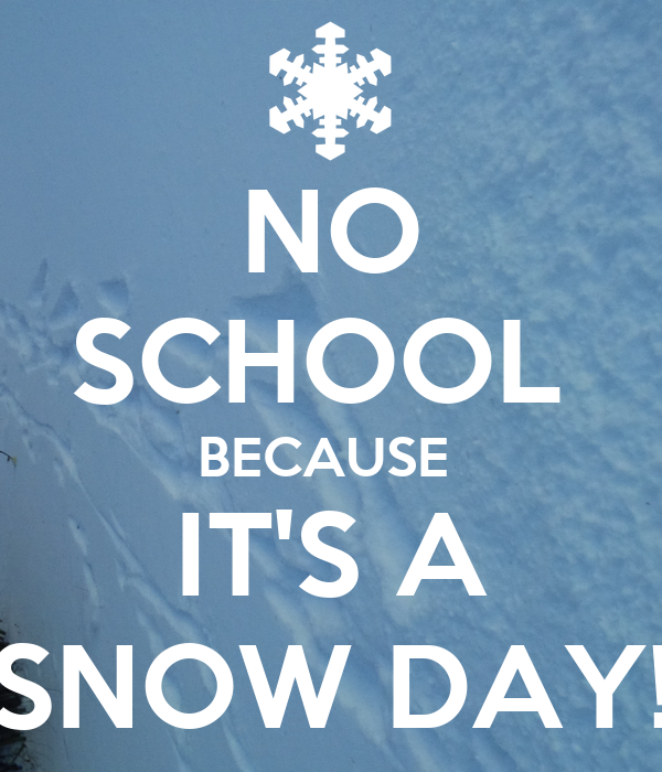 Image result for snow day school