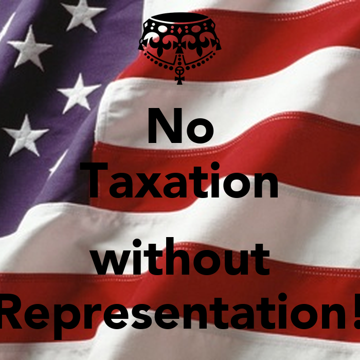 taxation and representation My position is this—i repeat it—i will maintain it to my last hour,—taxation and representation are inseparable—this position is founded on the laws of nature it is more, it is itself an eternal law of nature for whatever is a man's own, is absolutely his own no man hath a right to take it from him without his.