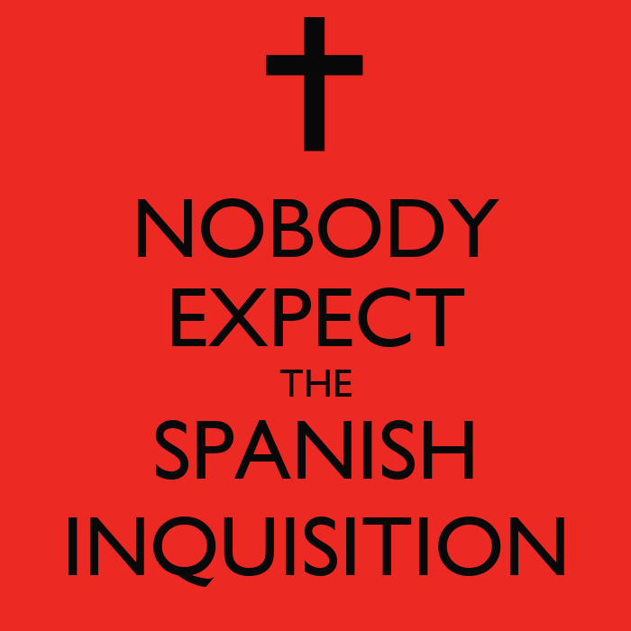 Nobody Expects The Spanish Inquisition Wallpaper Nobody Expect The Spanish